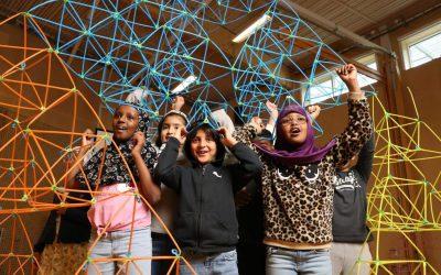 Winning #KidsJudgeBETT 2020 award in London